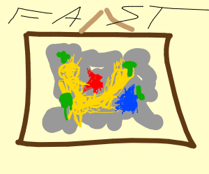 That is fast art!