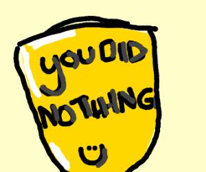 a participation badge