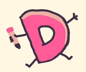 Drawception Logo man