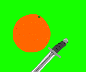 orange has sword