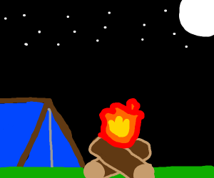 I nice lil' campfire