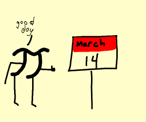 Pi approves of March 19th