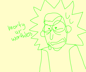 green Rick (from Morty)