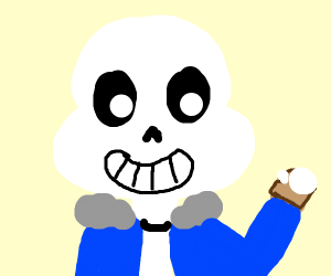 sans eats bread