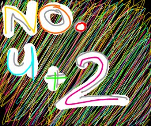 No u plus 2