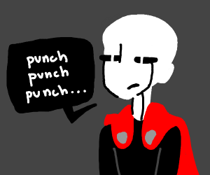 Anime... Here have a 1 punch man.