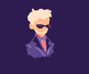 Purple Suit, White Beard/Haired, Caucasian