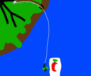 Fishing for an iPhone