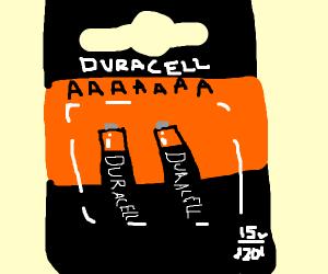 AA AAA AAAAAAAAAAA Battery Vine
