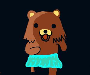 Scary bear skirt