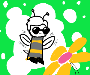 dave strider in bee costume