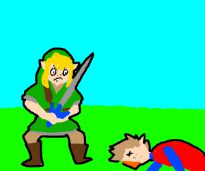 Link killed an npc