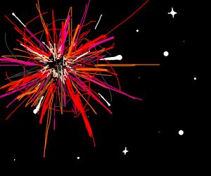 imploding star