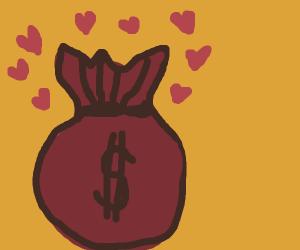 Treasure bag loves you