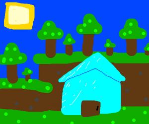 yall, i just finished my diamond house