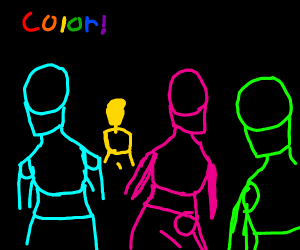 Colorful people
