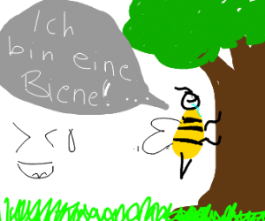 bee x tree