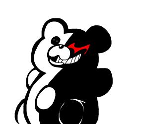 Monokuma teddy bear