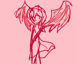Cute Demon Drawception