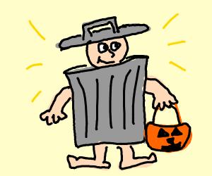 Very trashy costume