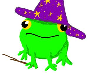 Frog magician