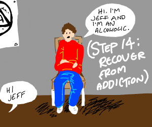 step 13: develop an addiction to cope