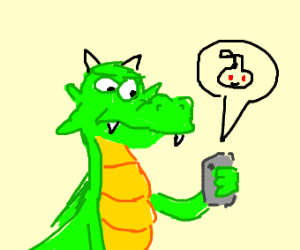 green dragon is very displeased with reddit