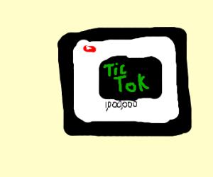 f-ing tik tok getting them views on youtube