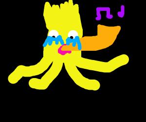 depressed lisa simpson squid