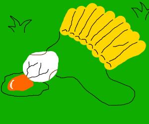 egg + parachute = failed experiment