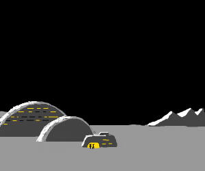 A Village in Space(cool drawing btw)