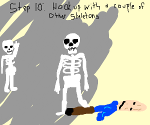 Step 8: Exit your body