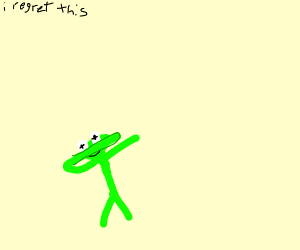 kermit doing the dab
