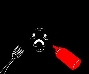 old men taste better with ketchup