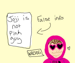 joji is not pinkguy