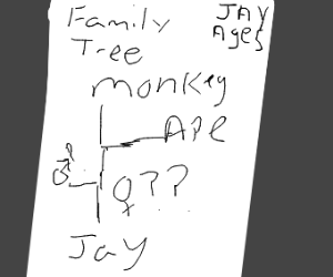 family tree but parents unknown