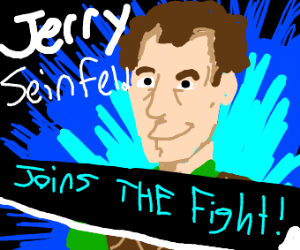 Jerry Seinfeld is a smash bro dlc