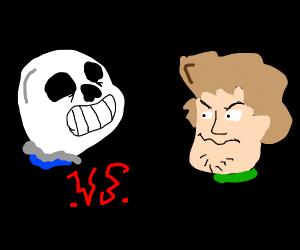 Sans vs shaggy