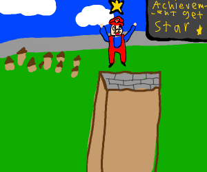 a plumber collects stars