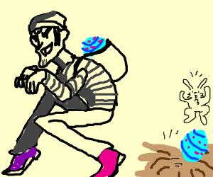 Classic villain stole the Easter Egg