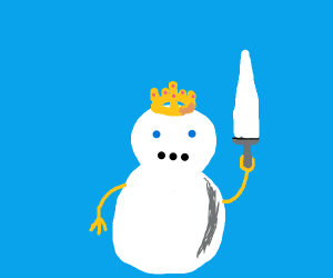 King of the snowmen
