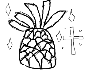 Holy pineapple
