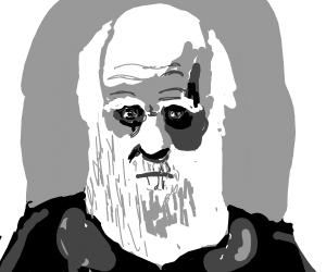 We're all under Charles Darwins watchful gaze