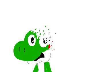 Yoshi got got by the snappening