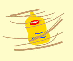 Mustard in a Dust Storm