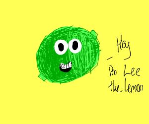A really cool lemon named Lee