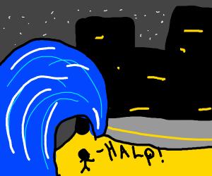 Burglar in a Tsunami