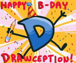 Happy Birthday Drawception D!
