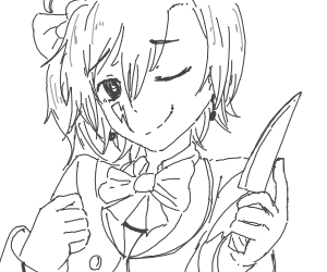Your homicidal, cute electric idol!