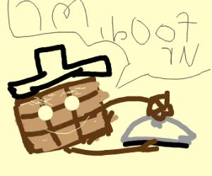 Chocolate Waiter